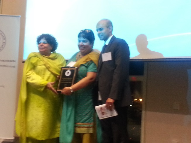 Saheli Receives Lifetime Achievement Award From Asian American Commission