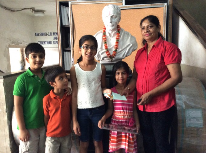 Youth: 11-Year Old Sanya Goenka Campaigns For AIF LAMP Program