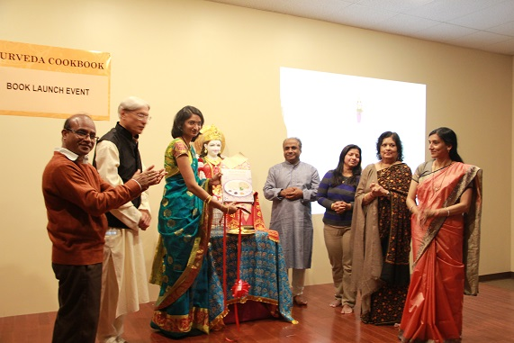 Ayurveda Cookbook Launch And Recipe Tasting Event At Shri Dwarkamai Vidyapeeth