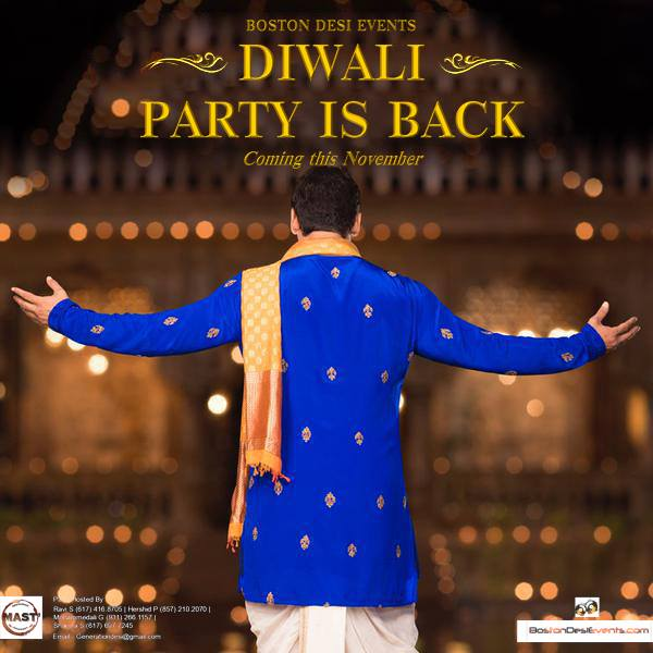 Boston Desi Events Presents Diwali Dhol Dhamaka 2015