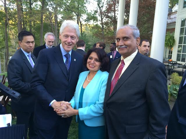 AAPI Discusses Ways To Collaborate With Clinton Foundation