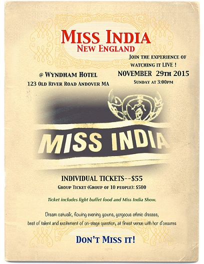 Miss India New England -2015