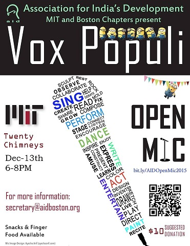 Vox Populi - An Open Mic Event