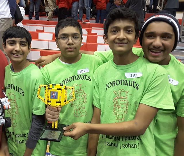 R.J.Grey Students' Success At FLL State Championship