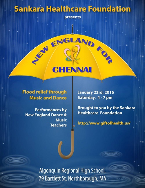 New England For Chennai