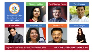 A Great Line Up Of Speakers At The Harvard India Conference