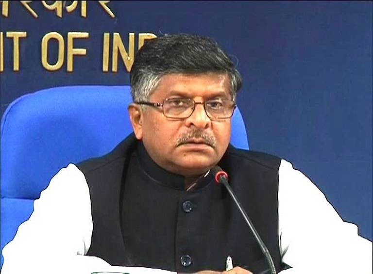 Meet Shri Ravi Shankar Prasad<br>Hon'ble Minister Of Information Technology And Telecommunications