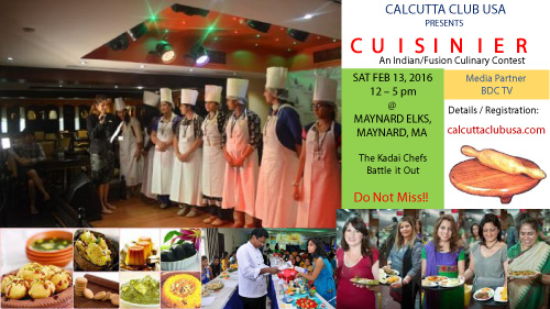 Cuisinier, An Indian/fusion Culinary Contest