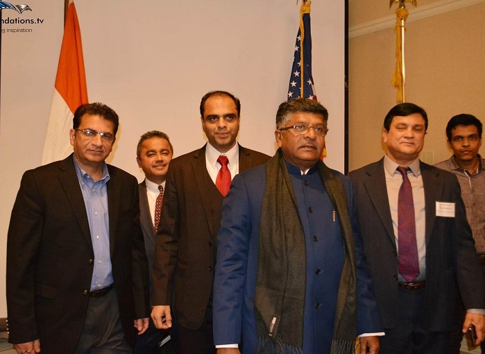 Boston Welcomes India's Communications & Information Technology<br>Minister  Mr. Ravi Shankar Prasad