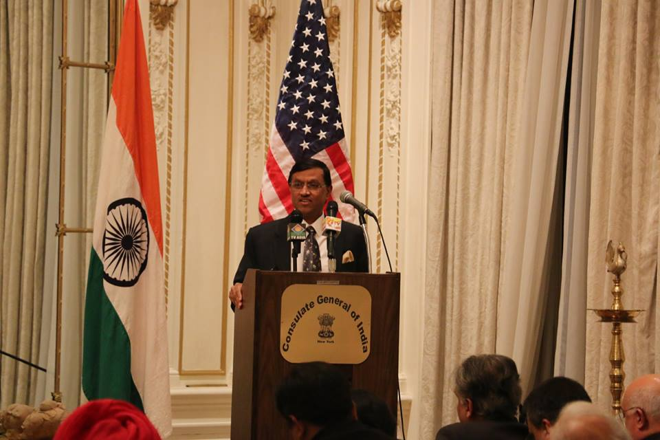 Farewell To The Consul General, Ambassador Dnyaneshwar Mulay