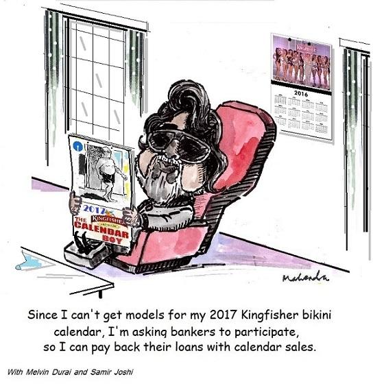 Cartoon: Kingfisher Calendar