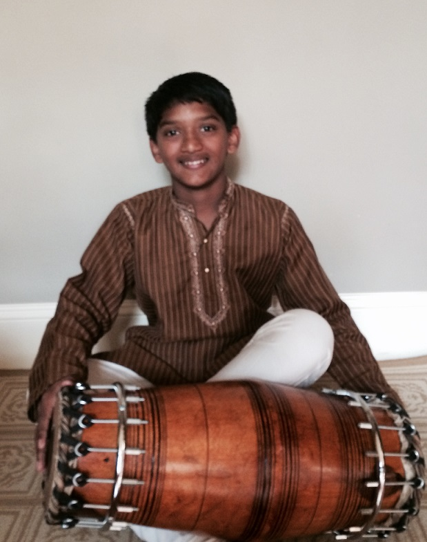Inesh Vytheswaran Wins 2nd Prize For Mridangam At Cleveland Thyagaraja Festival 2016