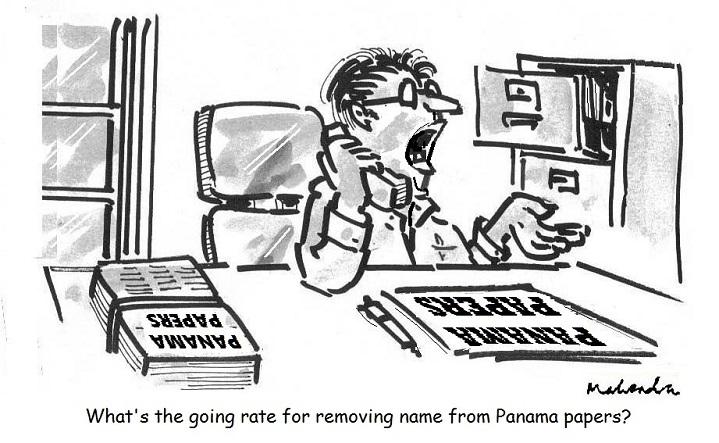 Cartoon: Panama Papers