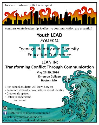 Youth Lead Organizes Teen-Led Conference TIDE