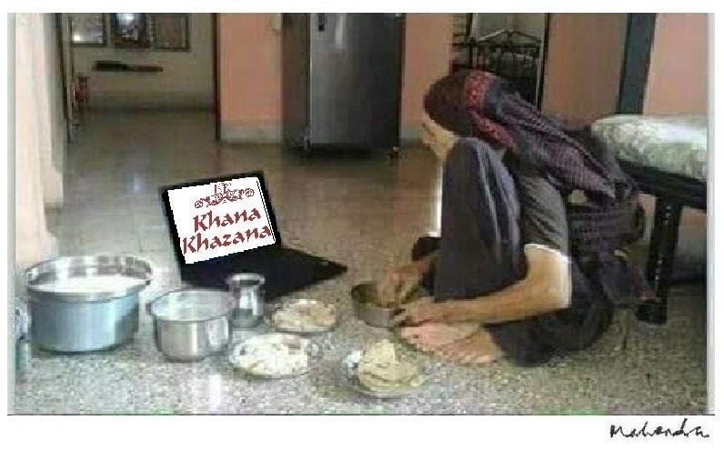 Cartoon: Khana Khazana