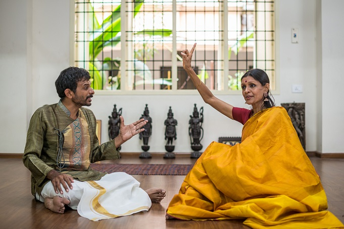 A Conversation In Improvisation Between Vocalist TM Krishna<br>And Bharatanatyam Dancer Priyadarshini Govind