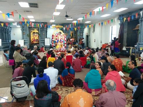 23rd Annual Sri Ramacharitamanasa Reading At Sri Lakshmi Temple