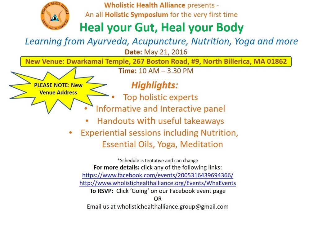 WHA Presents Heal Your Gut, Heal Your Body