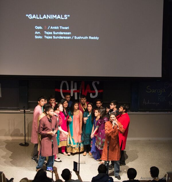 MIT Ohms Perform Unique Mashups Of American Pop And Hindi Songs During Ohmception