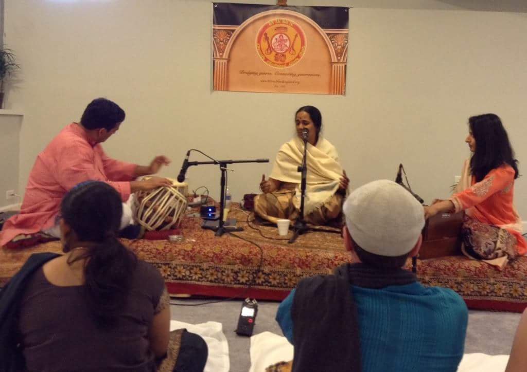 Afternoon Ragas By Dr. Lakshmi Sreeram Delight KHMC Music Lovers