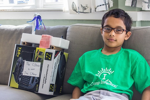 Nine-year-old Oyon Ganguli Of Waltham, MA Wins The Mighty Minds Contest