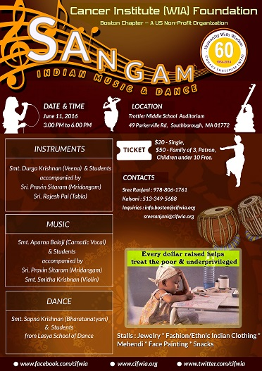 Sangam - Fundraiser For CIF