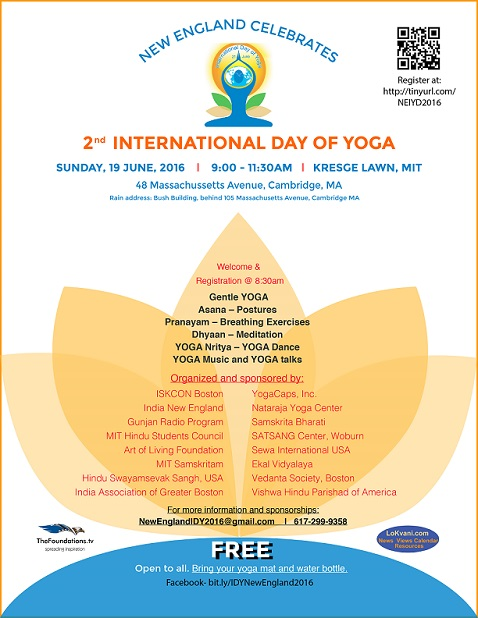 2nd International Day Of Yoga