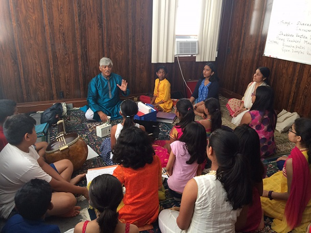 Informative Dhrupad Workshop By Gundecha Brothers
