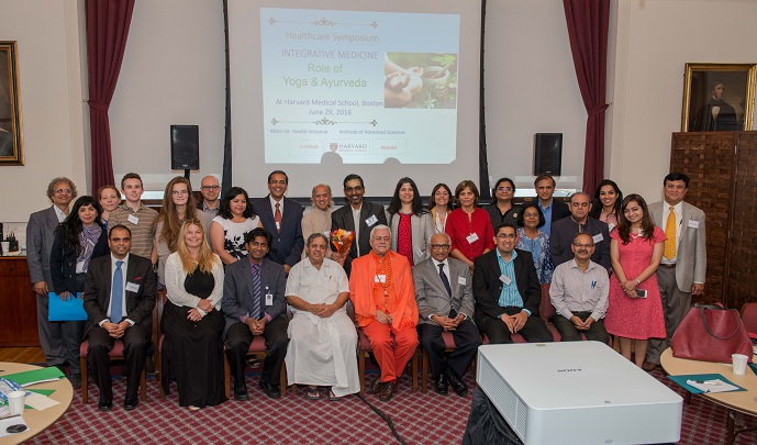 Harvard Medical Symposium On Integrative Medicine And Role Of Yoga And Ayurveda