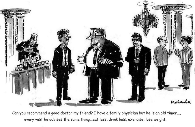 Cartoon: Old Time Doctor