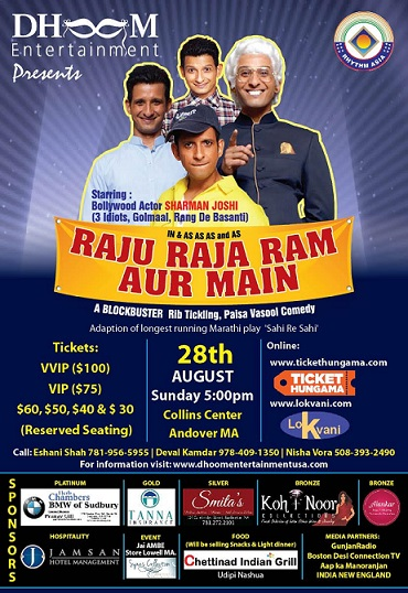 Hindi Play: Raju Raja Ram Aur Mein