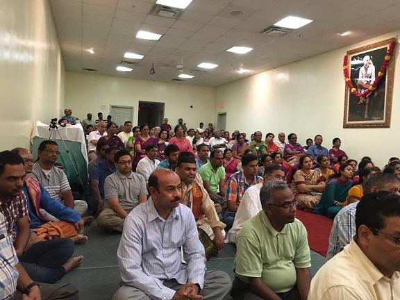 NESSP Organizes A Discourse By Brahmashri Samavedam  Shanmukha  Sharma Garu