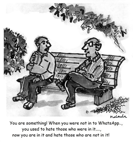 Cartoon: Whats App