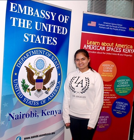 Neeharika Munjal Speaks At US Embassy In Kenya