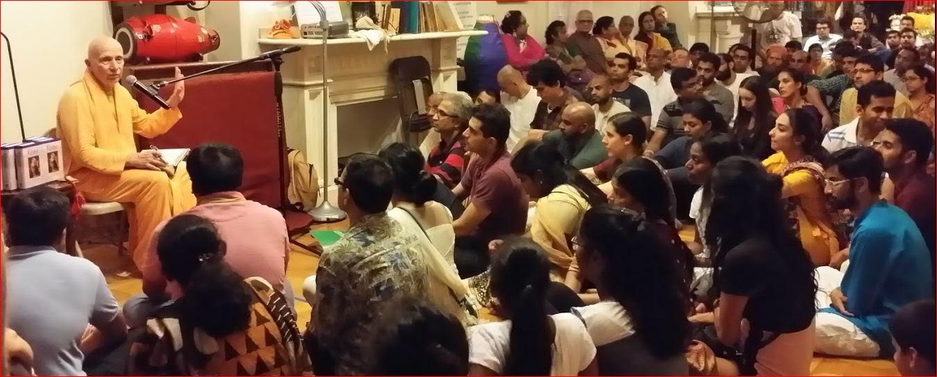 A Grand Janmashtami Celebration At ISKCON Temple, Boston