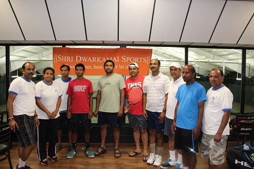 Shri Dwarkamai Sports Team Successfully Organizes Their Fifth Annual Tennis Tournament