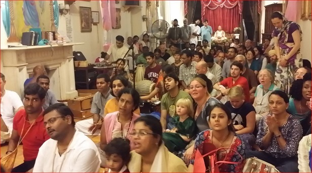 ISKCON Temple Celebrated A Grand Radhashtami