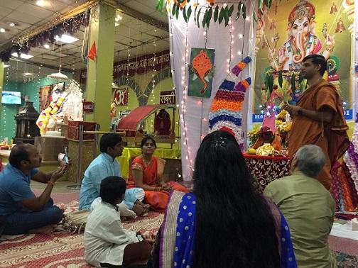 Ganesh Utsav Celebrations At Shirdi Sai Temple (NESSP)