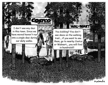 Cartoon: Walking Trail