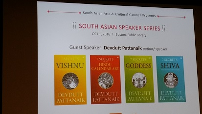 SAAC Presents Devdutt Pattanaik And Mesma Belsare