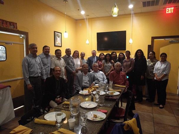Indian Americans For Burlington Meet State Rep. Ken Gordon