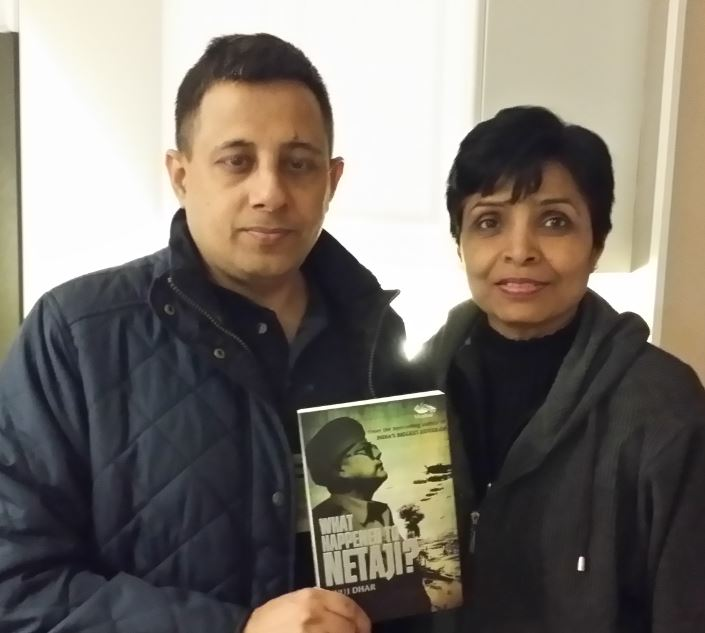 What Happened To Netaji - A Book Talk By The Author Anuj Dhar