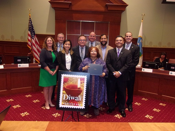 Quincy City Council Recognizes Diwali