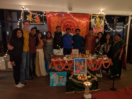 Diwali Puja At Tufts University