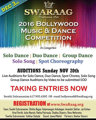 Swaraag Music And Dance Competition