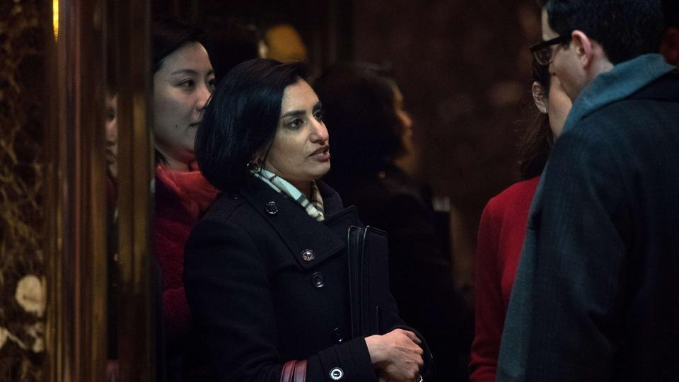 Seema Verma Named The Administrator Of The Centers Of Medicare And Medicaid Services