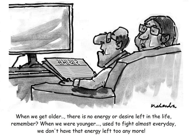 Cartoon: Getting Older