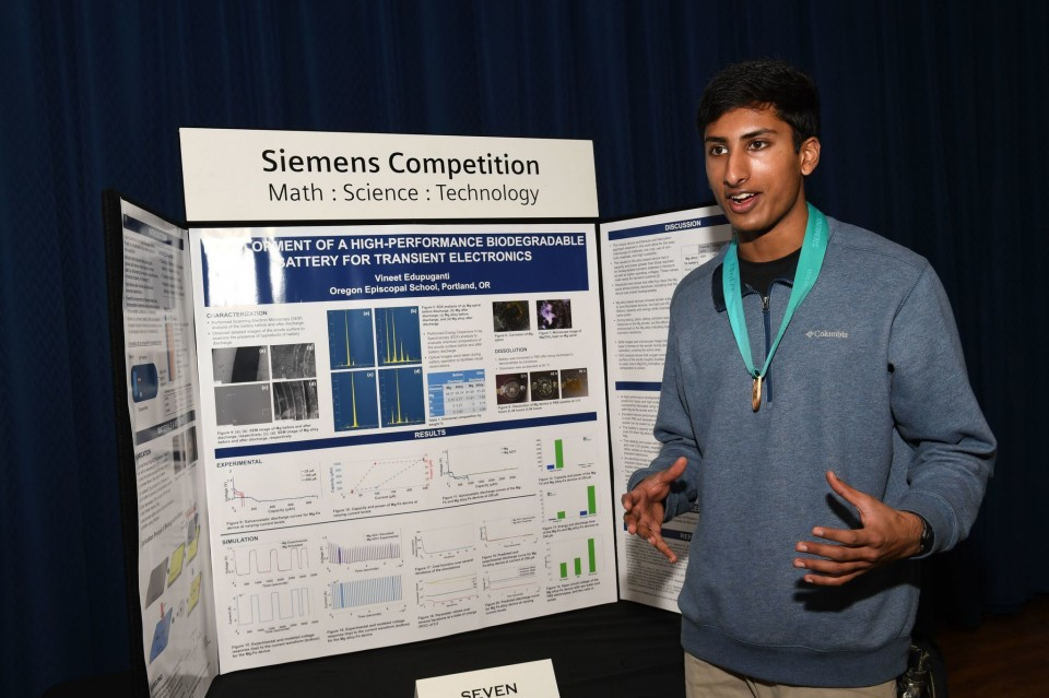 Indian-American Teens Win Top Prizes At 2016 Siemens Competition