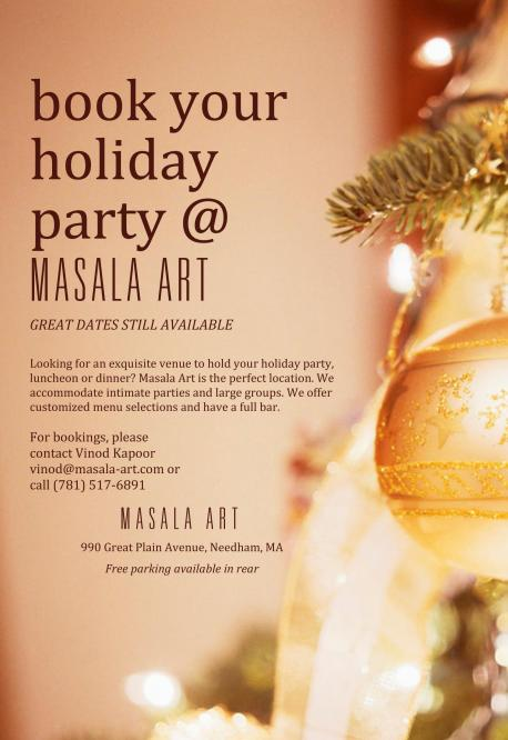 New Year's Day Brunch At Masala Art
