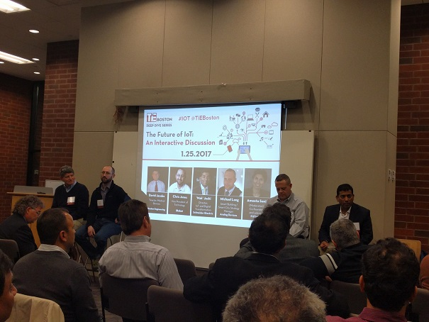 TiE-Boston Organizes The Future Of IoT: An Interactive Discussion
